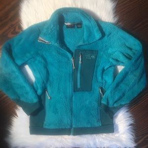 Mountain Hardwear Teal Monkey Fleece Jacket XS